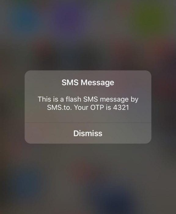 SMS.to now supports FlashSMS